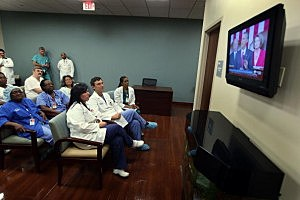 Florida Hospital Tunes In To Obama's Health Care Speech To Congress