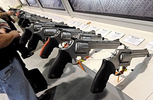 Gun Show Held In Las Vegas