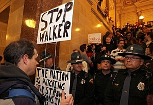 Wisconsin Senate Passes Ban On Collective Bargaining By Public Sector Unions