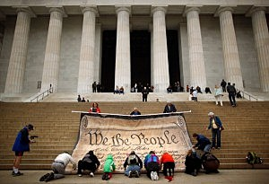 Activists Protest Supreme Court Decision On Corporate Political Spending