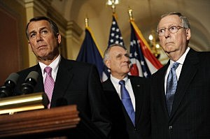 GOP Leadership Address Budget Deficit Debate