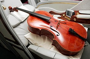 The Cello, one of four musical instruments that tr