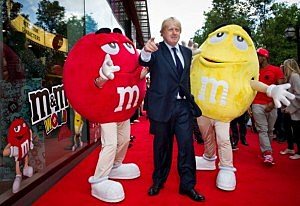 The Grand Opening of Europe's first M&M'S World Store in London, Leicester Square.