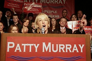 Patty Murray, Washington Democrats Attend Election Night Event In Seattle