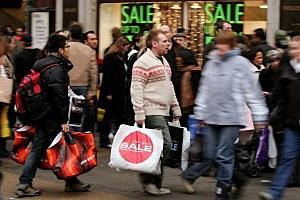 Bargain Hunters Hit The Streets As Sales Begin
