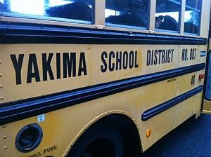 yakima school bus