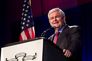 Newt Gingrich Addresses The Georgia Republican Party State Convention