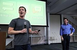 Mark Zuckerberg Announces Facebook Video Calling