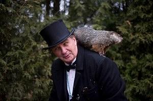 Groundhog Day in Punxsutawney Pennsylvania