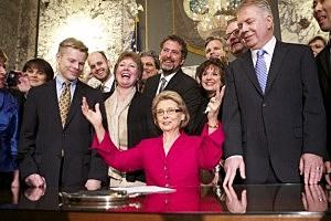 Washington State Gov. Chris Gregoire Signs Marriage Equality Legislation Into Law