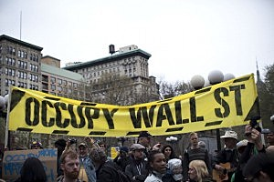 Occupy Wall Street Marches Against Police Brutality