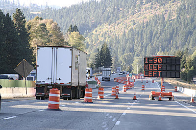Snoqualmie Pass Construction