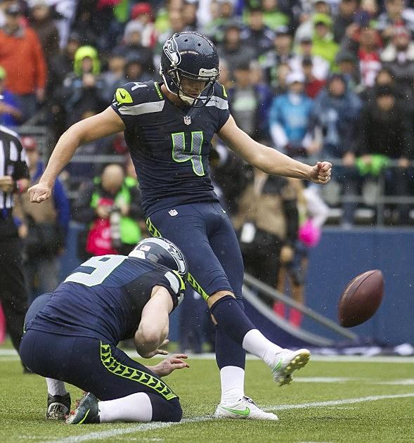 Seattle Seahawks Steven Hauschka