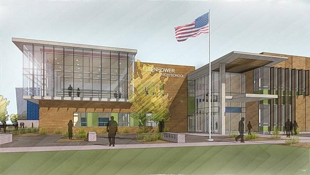 New Eisenhower High School drawing