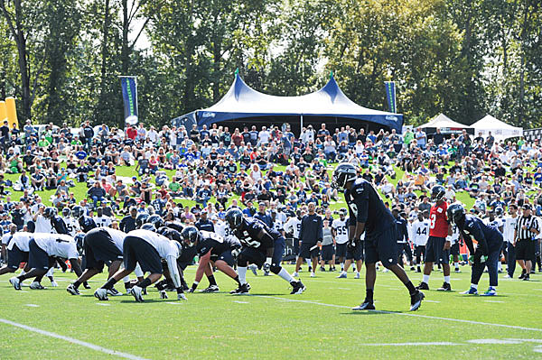 seahawks training camp
