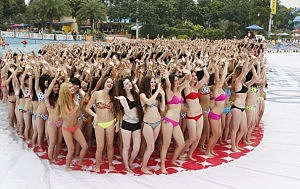 Bikini Gathering To Greet The Summer Season