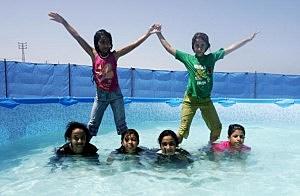 Palestinians Refugee Attend UNRWA's Schools Summer Camp