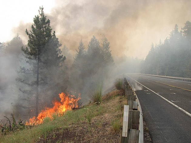 Mile Marker 28 fire