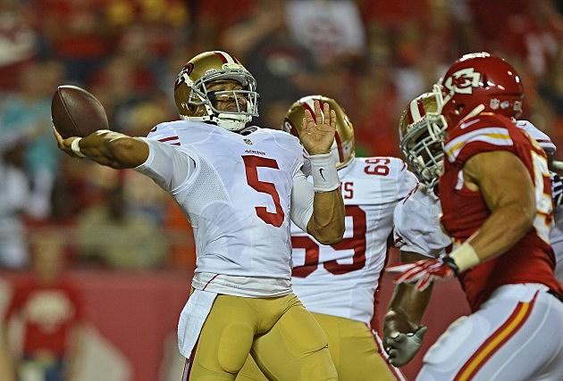 San Francisco 49ers B.J.Daniels