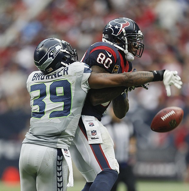 Brandon Browner Seahawks vs Texans