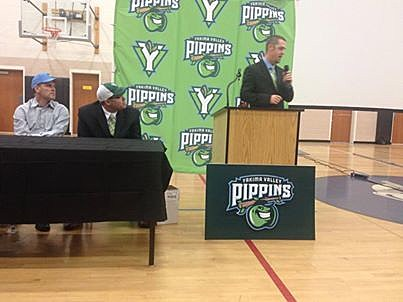 Yakima Valley Pippins news conference