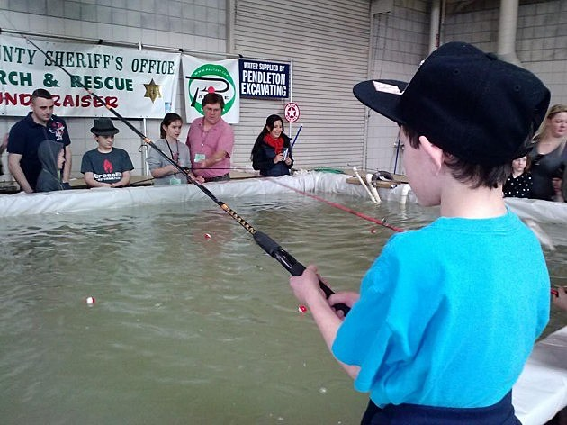 Fishing at the Central Washington Sportsman's Show