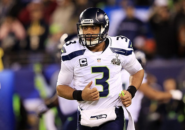 Russell Wilson Super Bowl XLVIII - Seattle Seahawks v Denver Broncos
