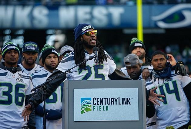 Seattle Seahawks Victory Parade Richard Sherman