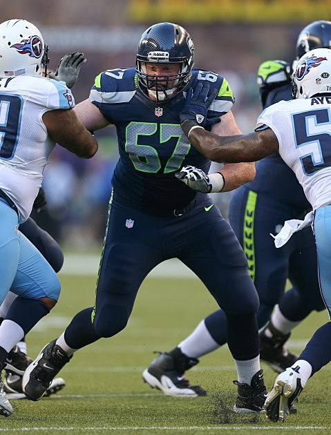 Paul McQuistan Seattle Seahawks