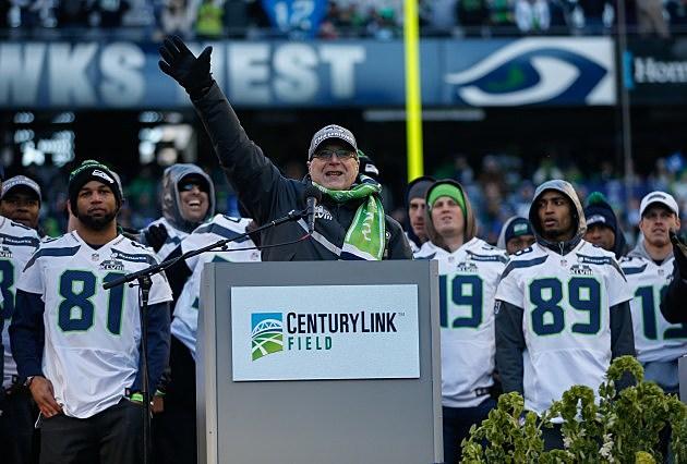 Seattle Seahawks Owner Paul Allen