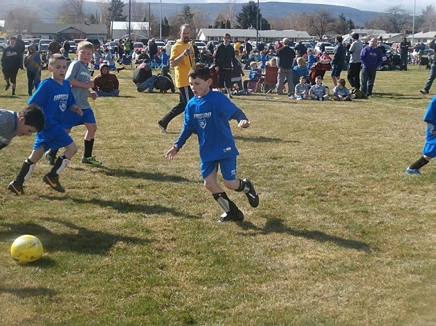 Upward Soccer at West Valley Church