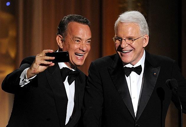 Steve Martin with Tom Hanks