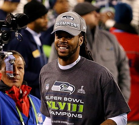 Sidney Rice Super Bowl XLVIII - Seattle Seahawks v Denver Broncos