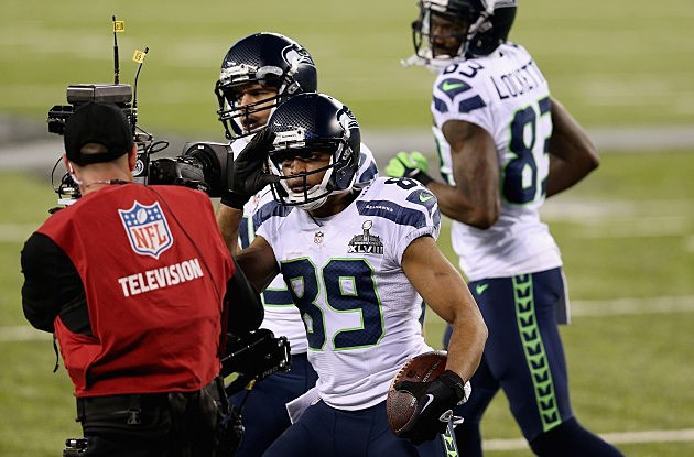 Doug Baldwin Super Bowl XLVIII - Seattle Seahawks v Denver Broncos
