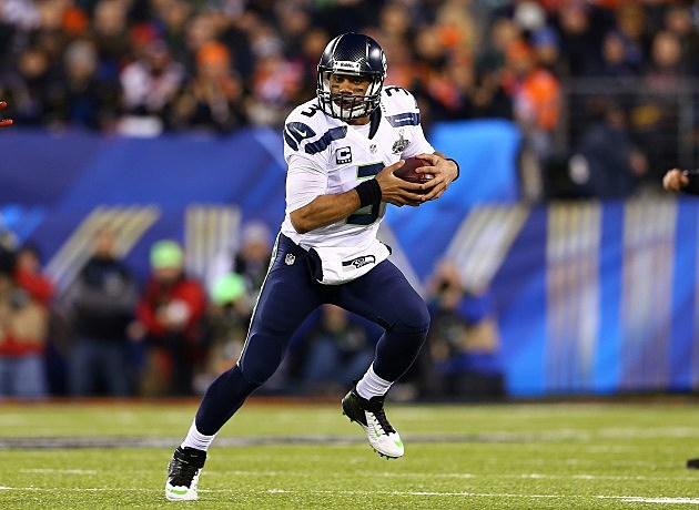 Super Bowl XLVIII - Seattle Seahawks v Denver Broncos Russell Wilson