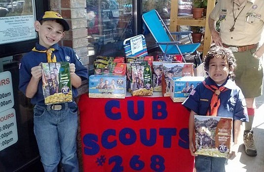 Cub Scout Popcorn Sales