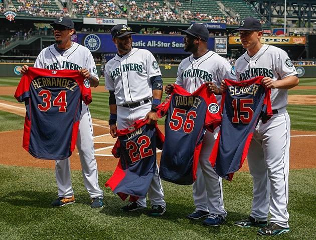 Seattle Mariners 2014 All-Stars