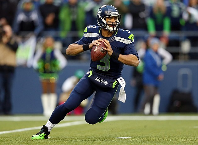 Russell Wilson NFC Championship - San Francisco 49ers v Seattle Seahawks