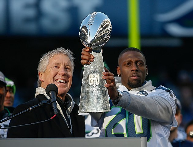 Seattle Seahawks Lombardi Trophy
