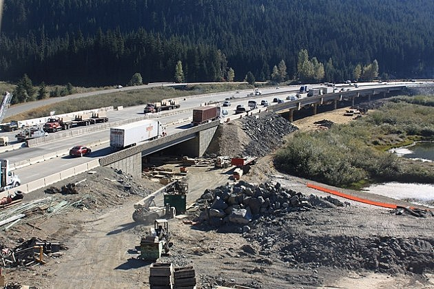 Snoqualmie Pass East Construction