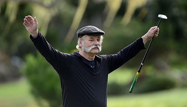Bil Murray Golfing