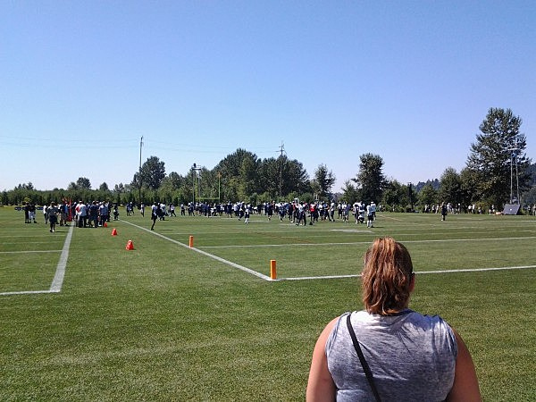 Seattle Seahawks Practice Field