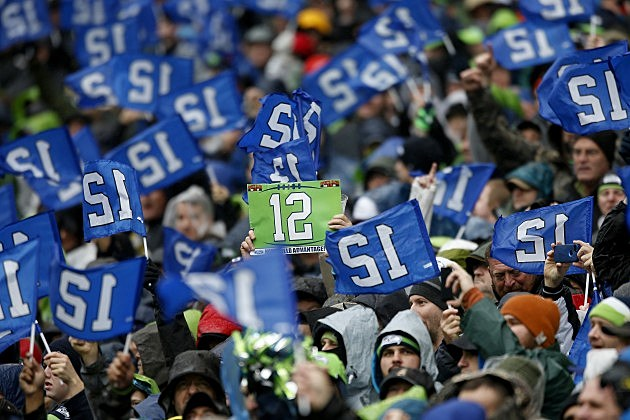 Seahawks 12th Man Fans