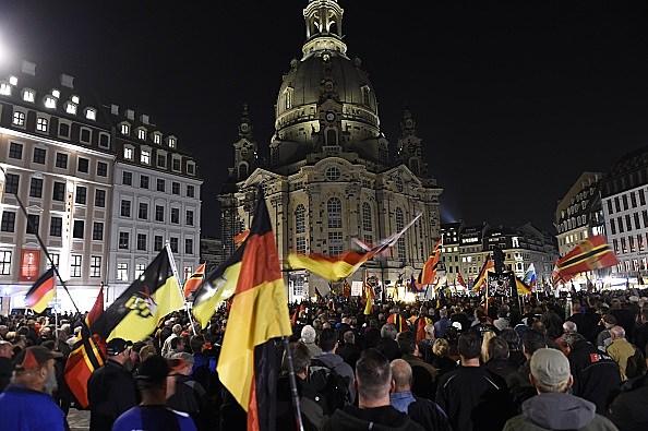 GERMANY-EUROPE-MIGRANTS-PEGIDA-DEMO