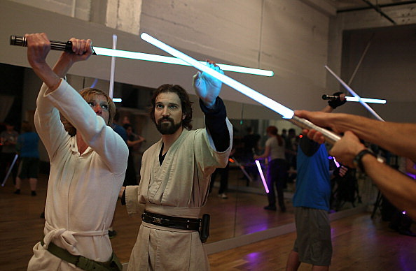 Star Wars Fans Train As Jedis In Lightsaber Class In San Francisco