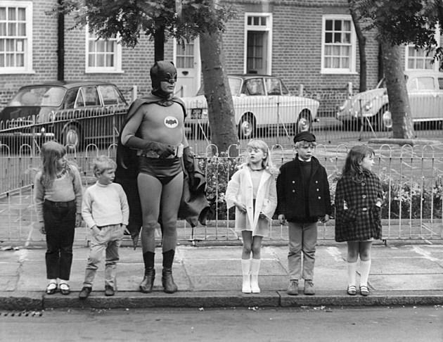 Batman Crosses Road