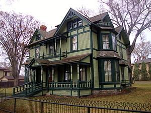 Old North Dakota Governor's Mansion (Bismarck, ND)